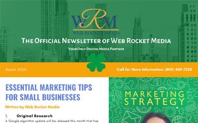 Newsletter March 2020   Web Rocket Media   Long Island, NY SEO