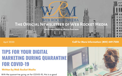 Newsletter April 2020   Web Rocket Media   Long Island, NY SEO