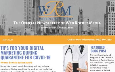 Newsletter May 2020 | Web Rocket Media | Long Island, NY SEO