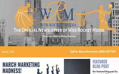 Newsletter March 2021   Web Rocket Media   Long Island, NY SEO