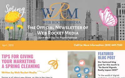 Newsletter April 2021   Web Rocket Media   Long Island, NY SEO