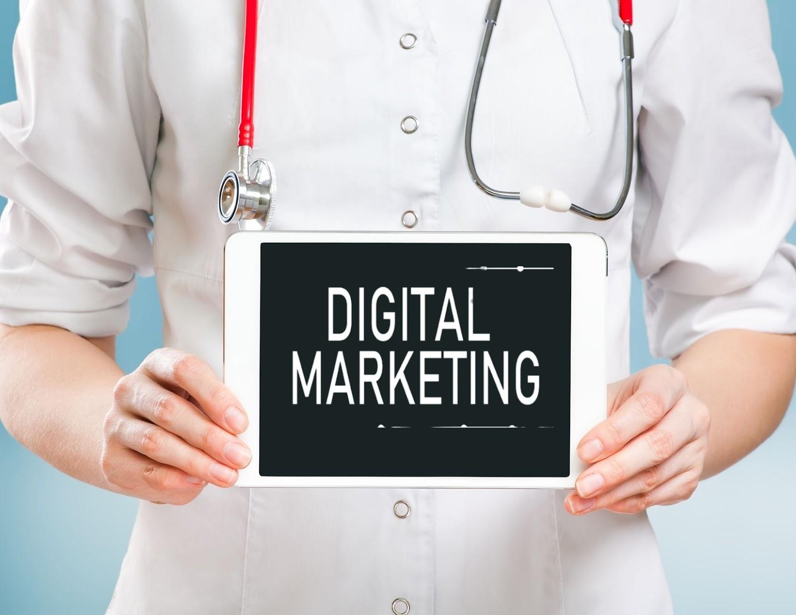 marketing for doctors, digital marketing for doctors